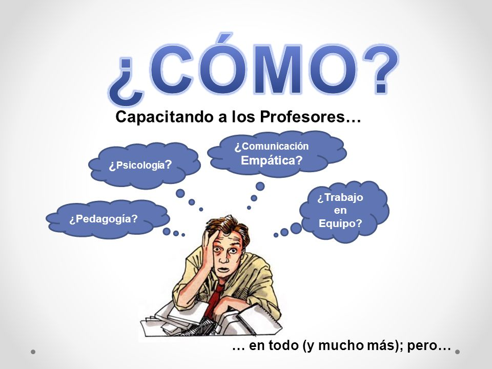 Capacitando a los Profesores… ¿Comunicación Empática