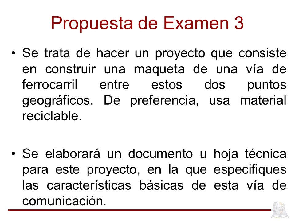 Propuesta de Examen 3