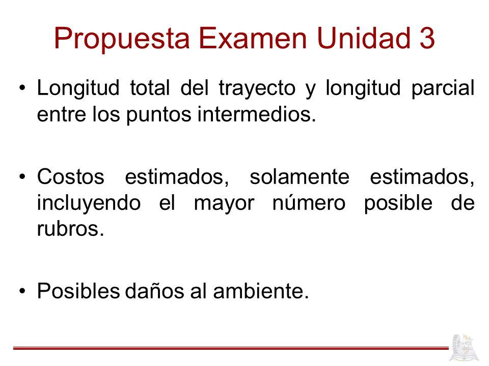 Propuesta Examen Unidad 3