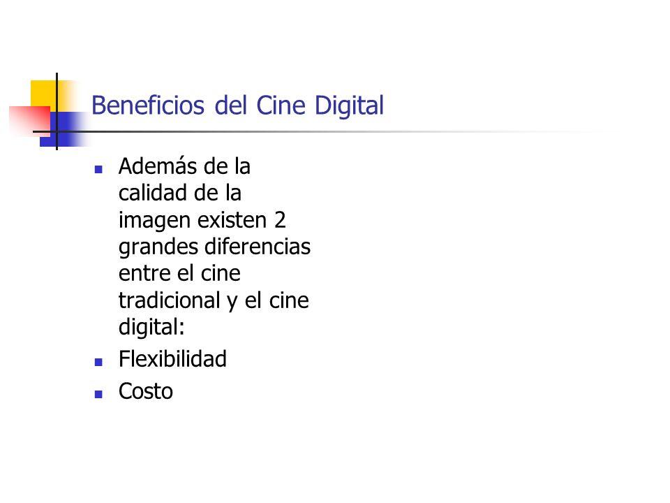 Beneficios del Cine Digital
