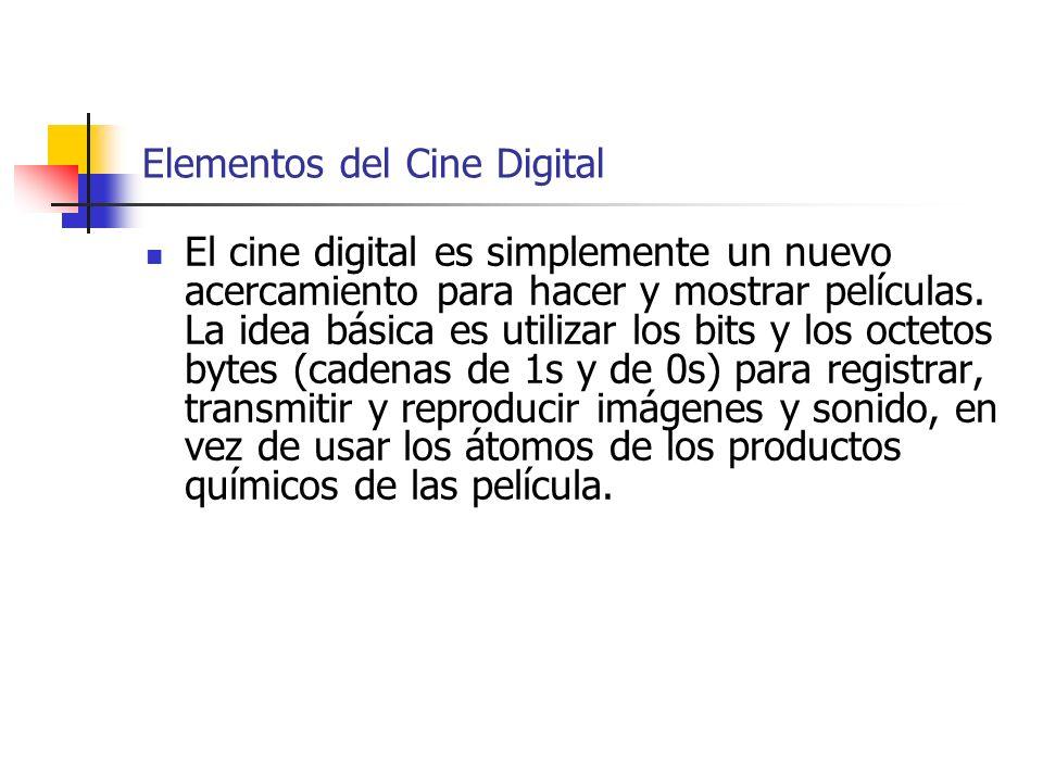 Elementos del Cine Digital