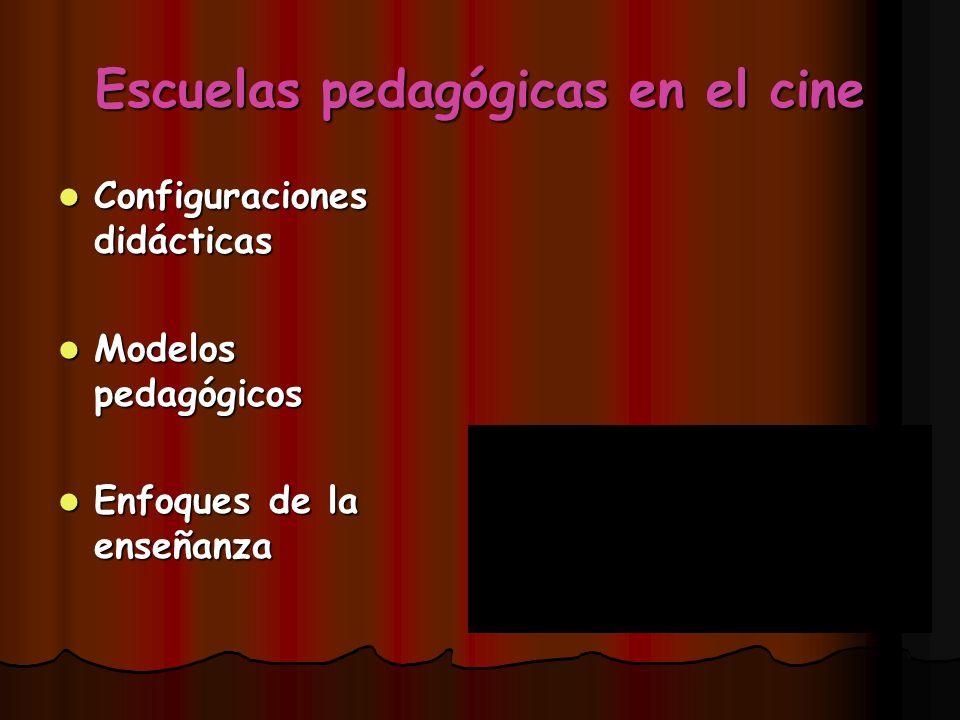 Escuelas pedagógicas en el cine