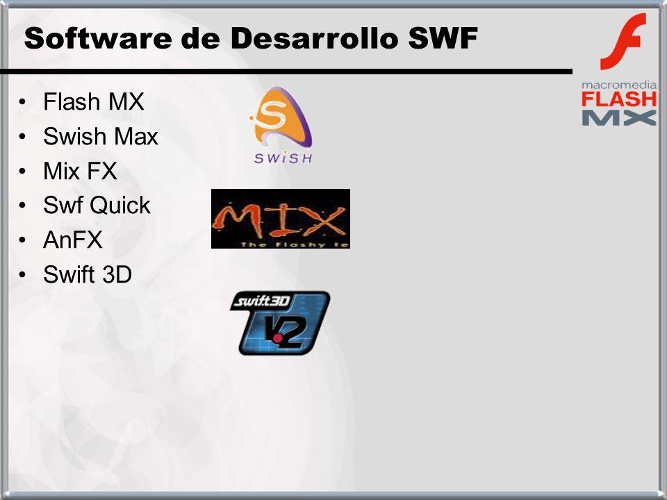 Software de Desarrollo SWF