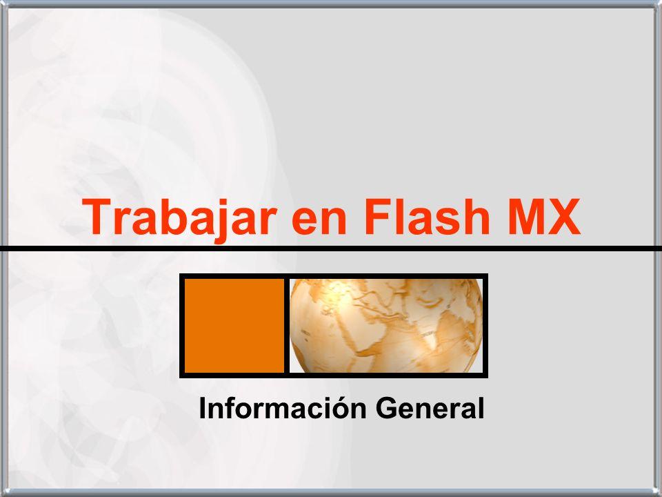 Trabajar en Flash MX Información General