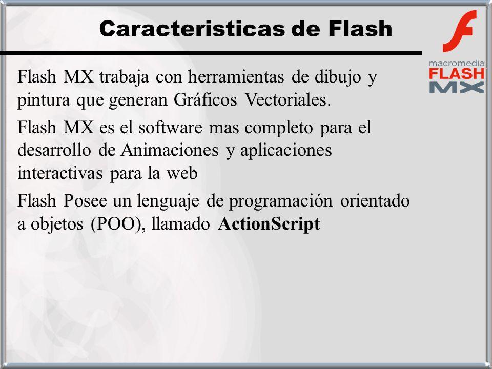 Caracteristicas de Flash