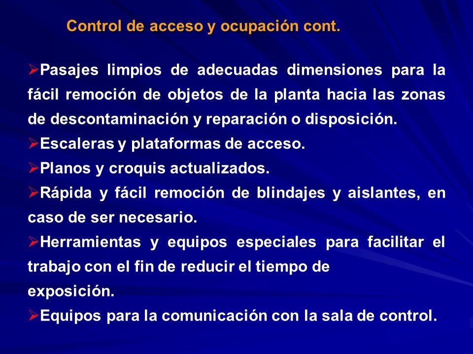Control de acceso y ocupación cont.