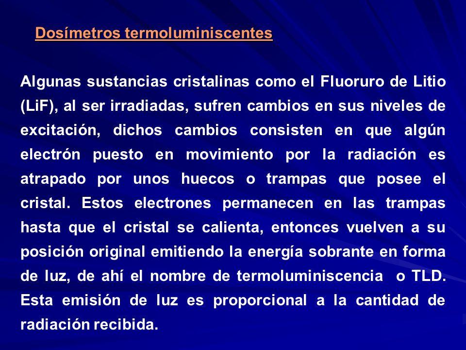 Dosímetros termoluminiscentes