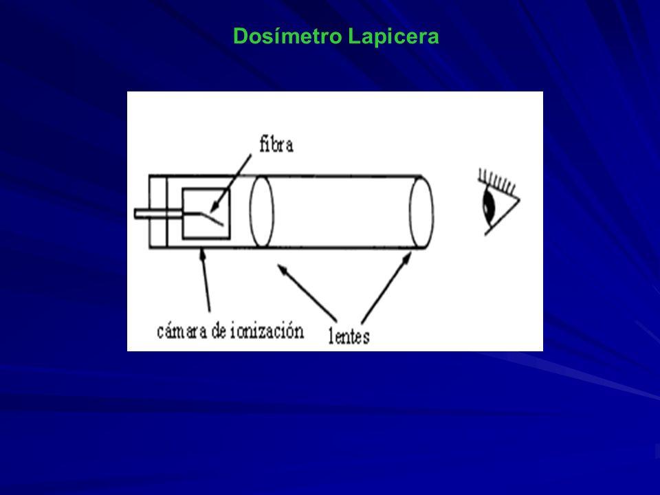 Dosímetro Lapicera