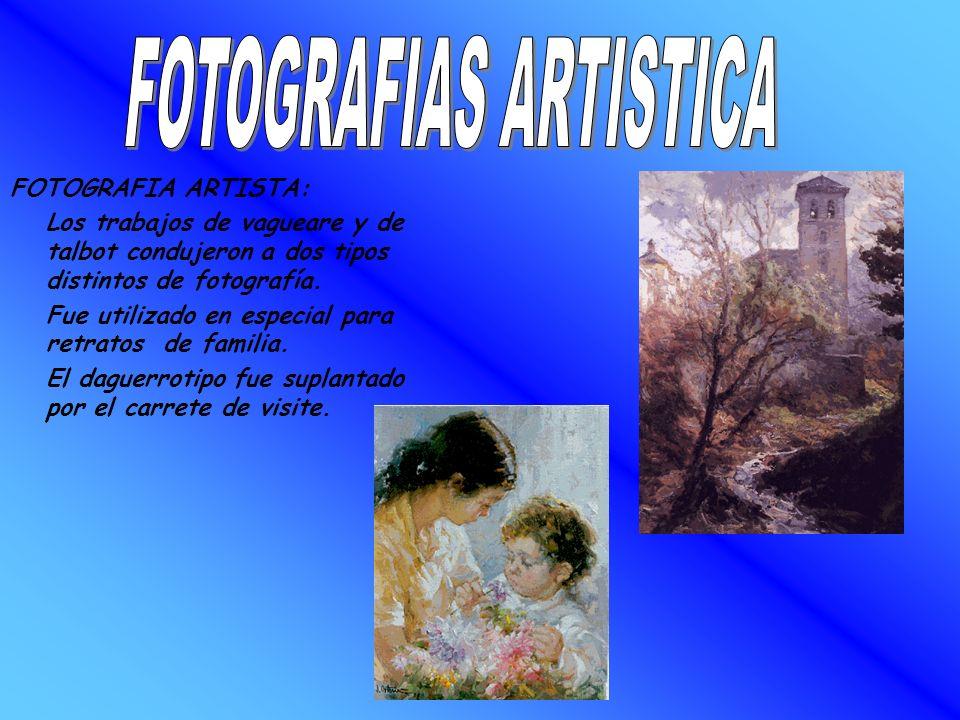 FOTOGRAFIAS ARTISTICA
