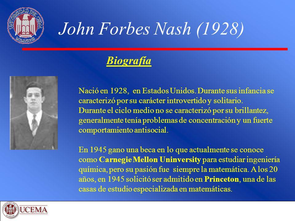 John Forbes Nash (1928) Biografía