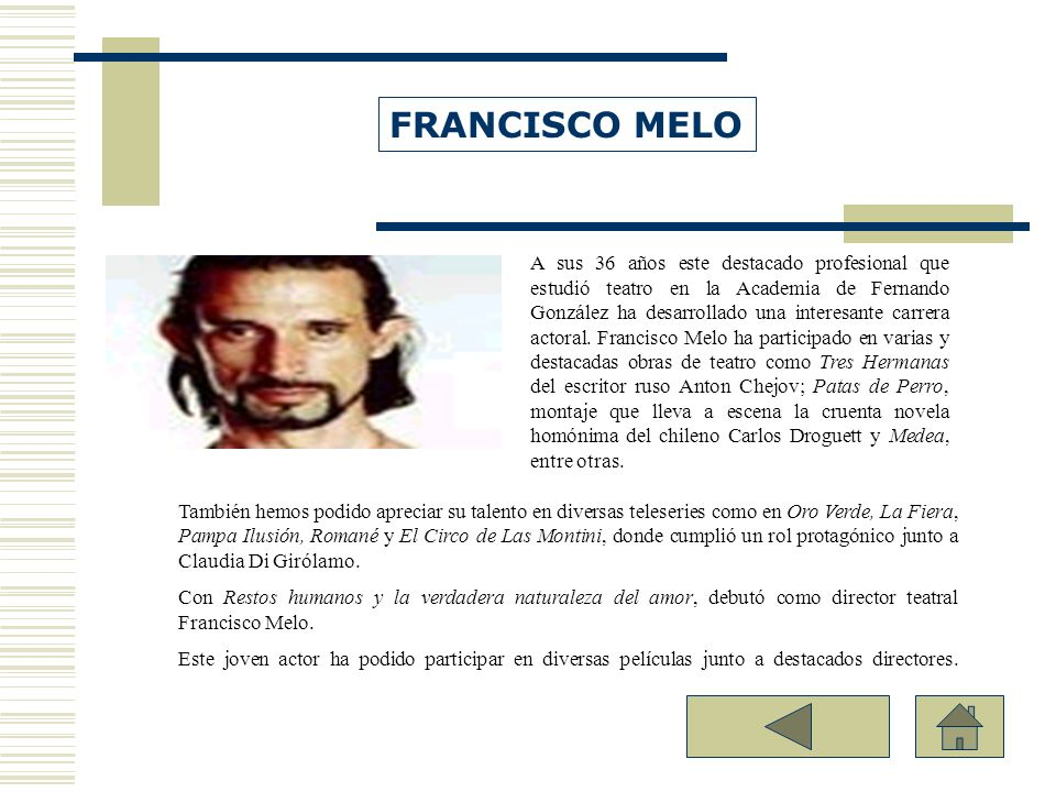 FRANCISCO MELO