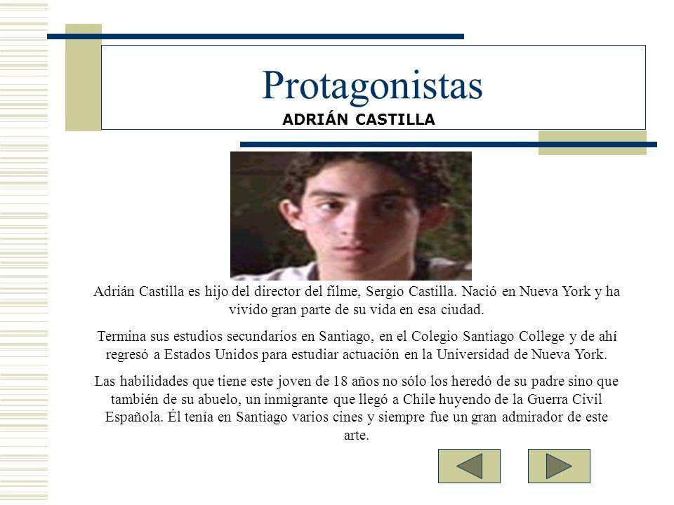 Protagonistas ADRIÁN CASTILLA.