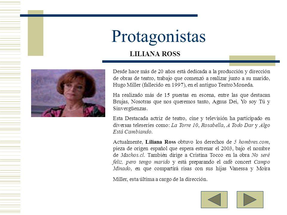 Protagonistas LILIANA ROSS.