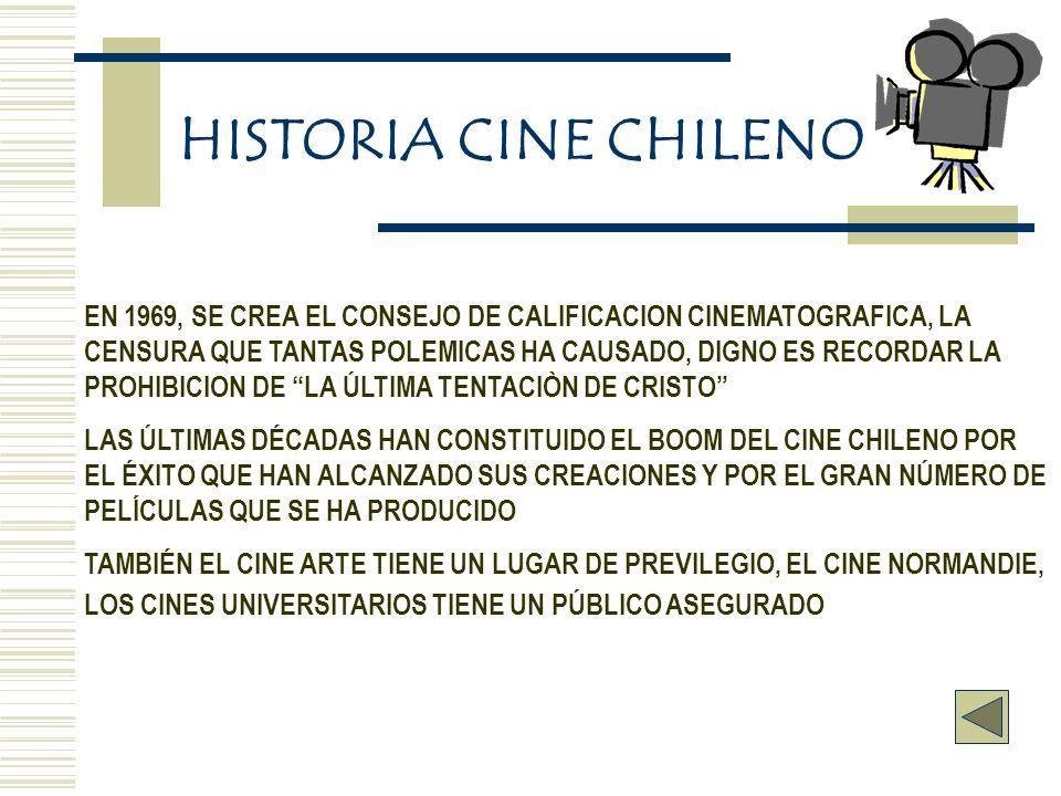 HISTORIA CINE CHILENO