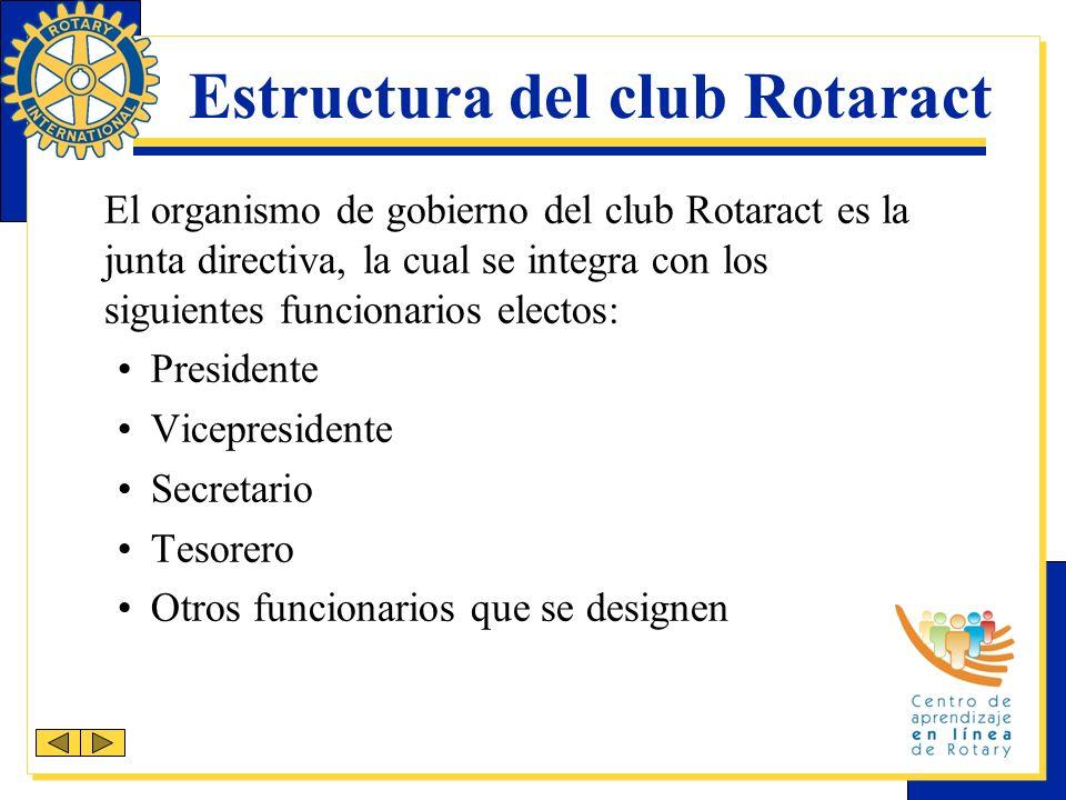 Estructura del club Rotaract