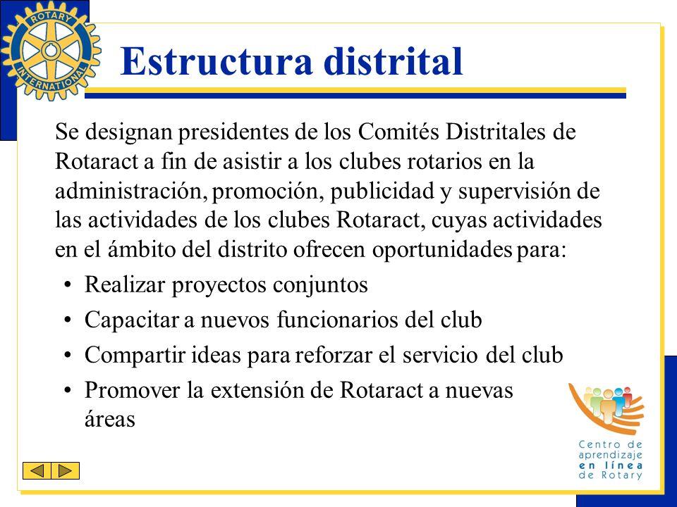 Estructura distrital