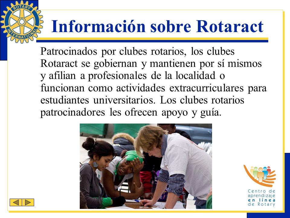 Información sobre Rotaract