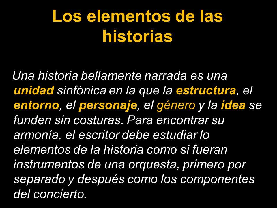 Los elementos de las historias