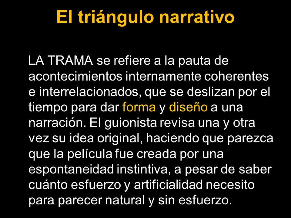 El triángulo narrativo