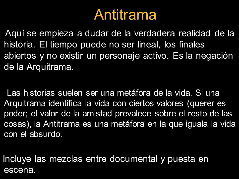 Antitrama