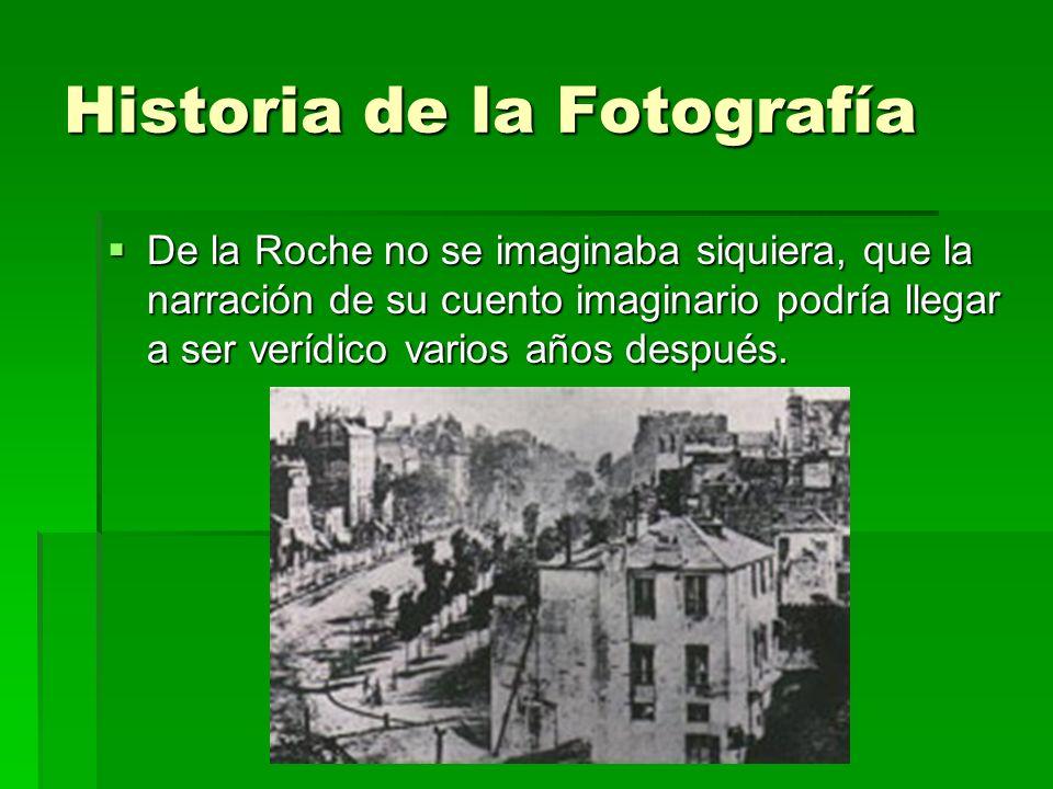Historia de la Fotografía