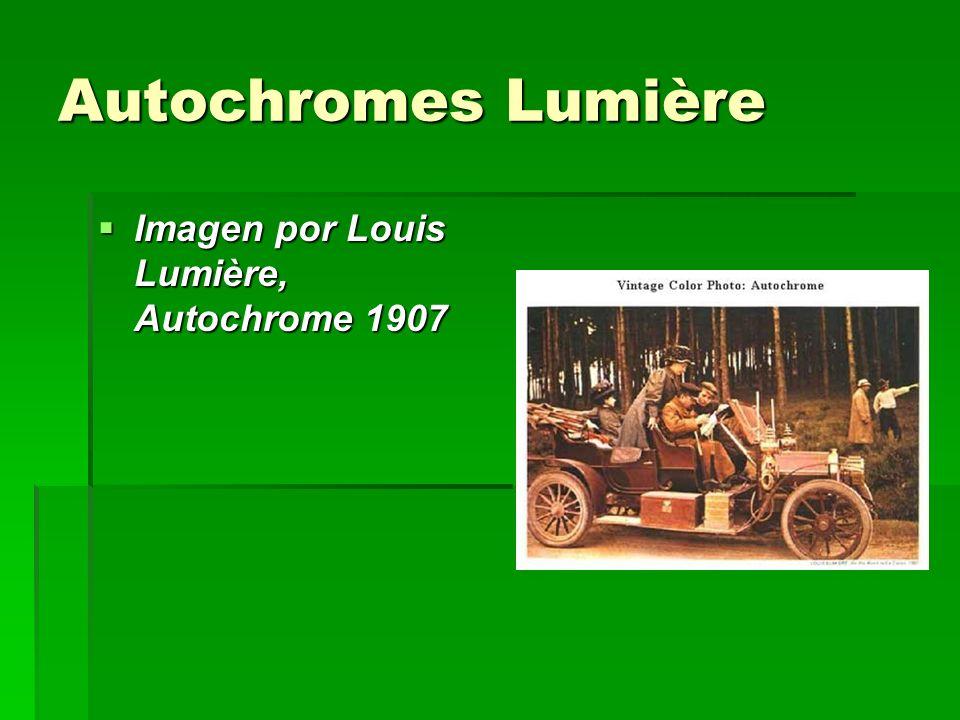 Autochromes Lumière Imagen por Louis Lumière, Autochrome 1907