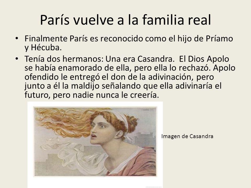 París vuelve a la familia real