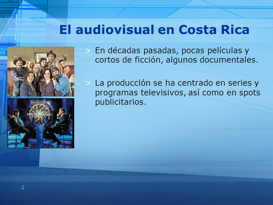 El audiovisual en Costa Rica