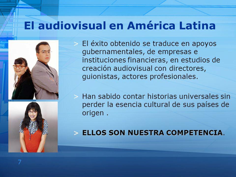 El audiovisual en América Latina