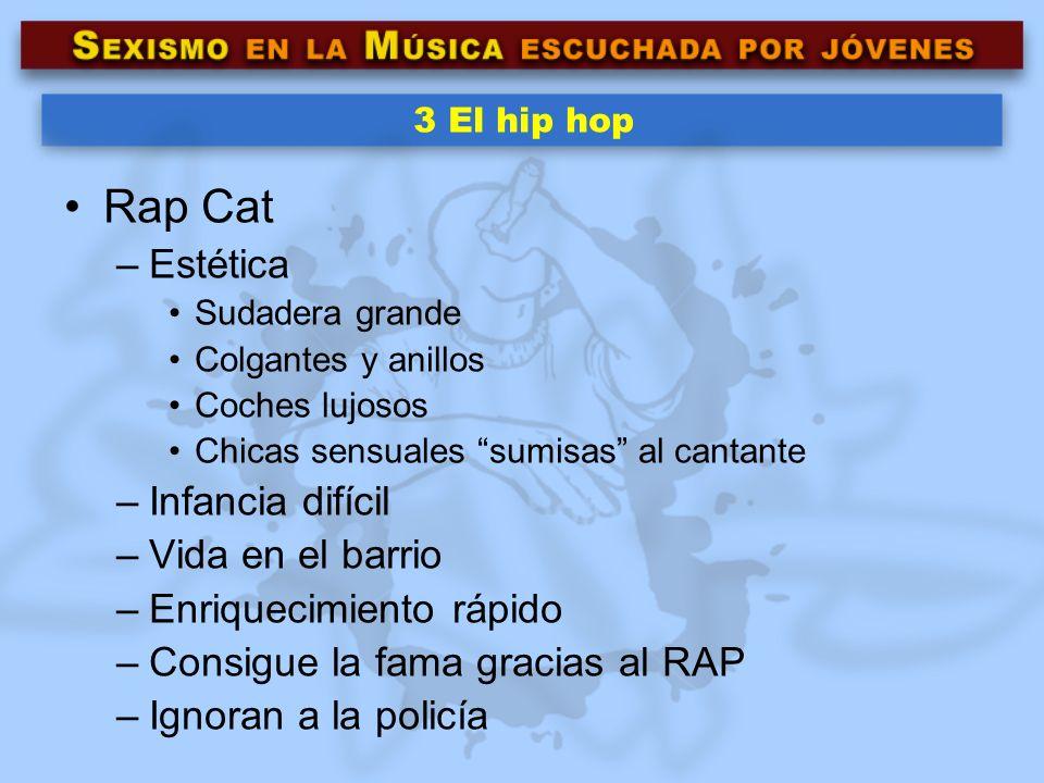 Rap Cat Estética Infancia difícil Vida en el barrio