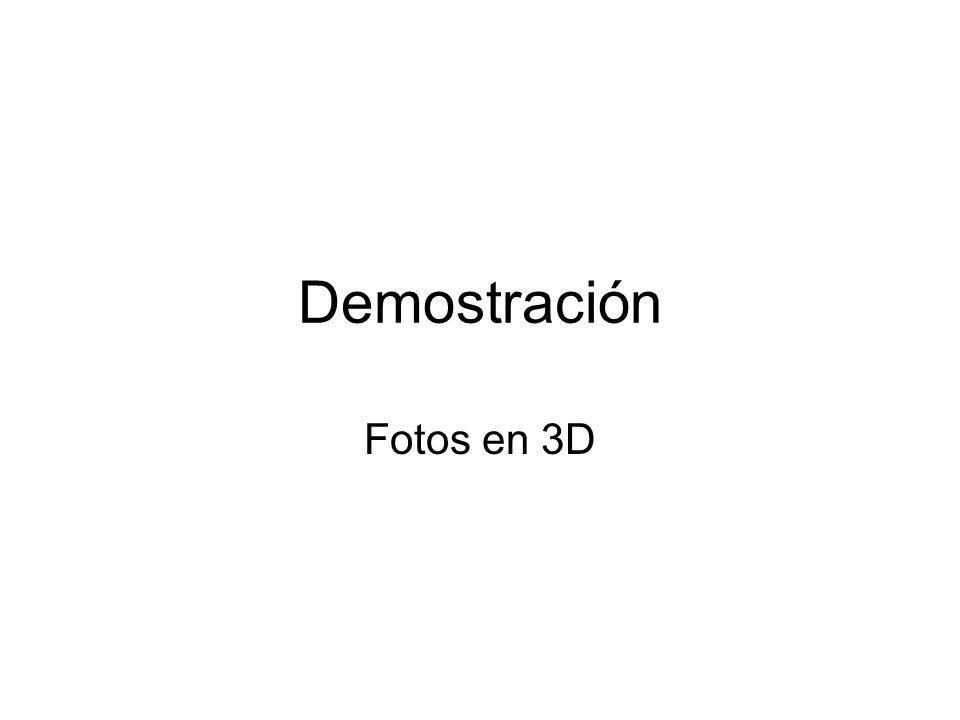 Demostración Fotos en 3D