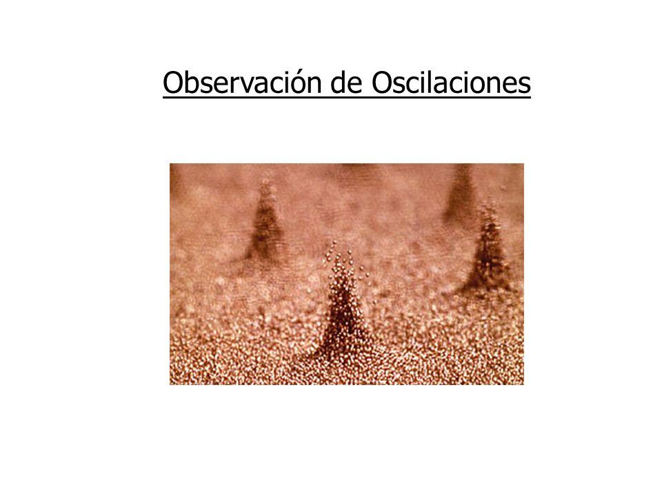 Observación de Oscilaciones