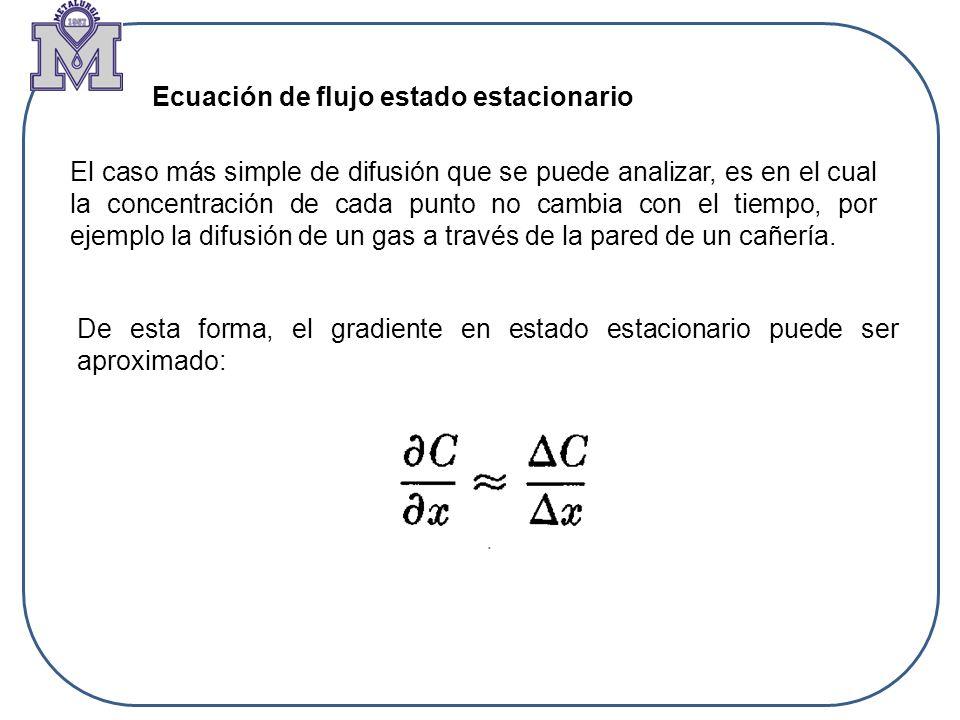 Ecuación de flujo estado estacionario