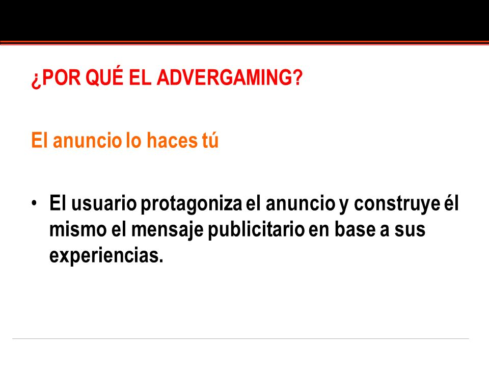 ¿POR QUÉ EL ADVERGAMING