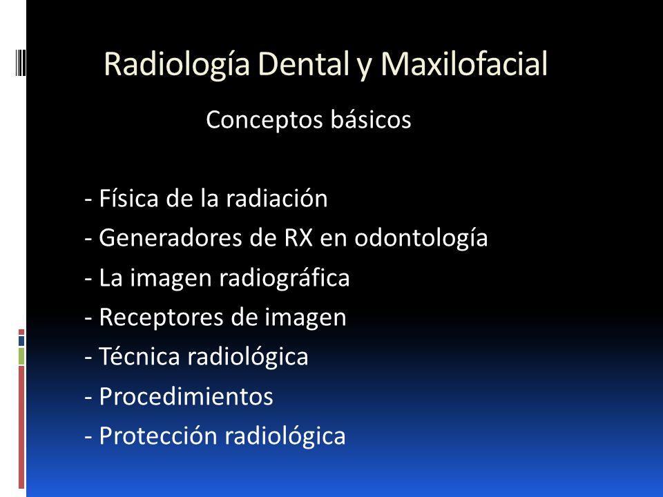 Radiología Dental y Maxilofacial