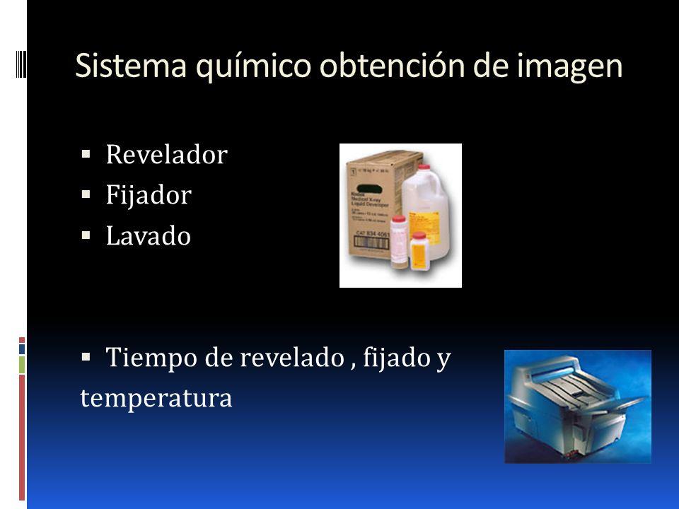 Sistema químico obtención de imagen
