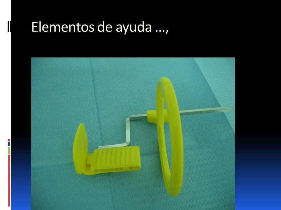 Elementos de ayuda …,