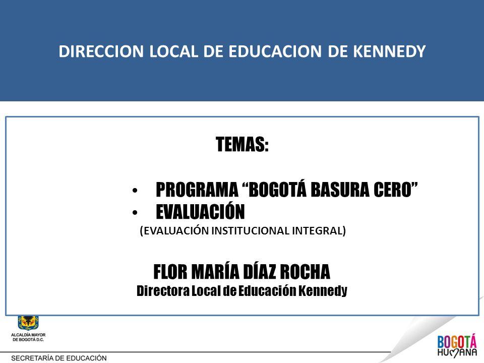 DIRECCION LOCAL DE EDUCACION DE KENNEDY