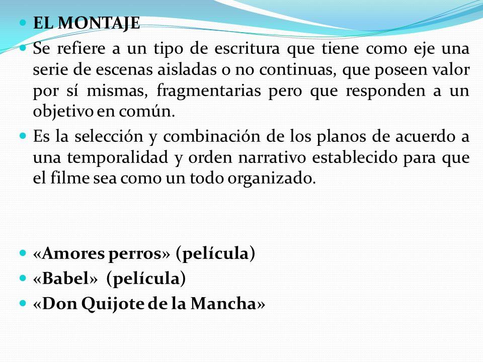 EL MONTAJE