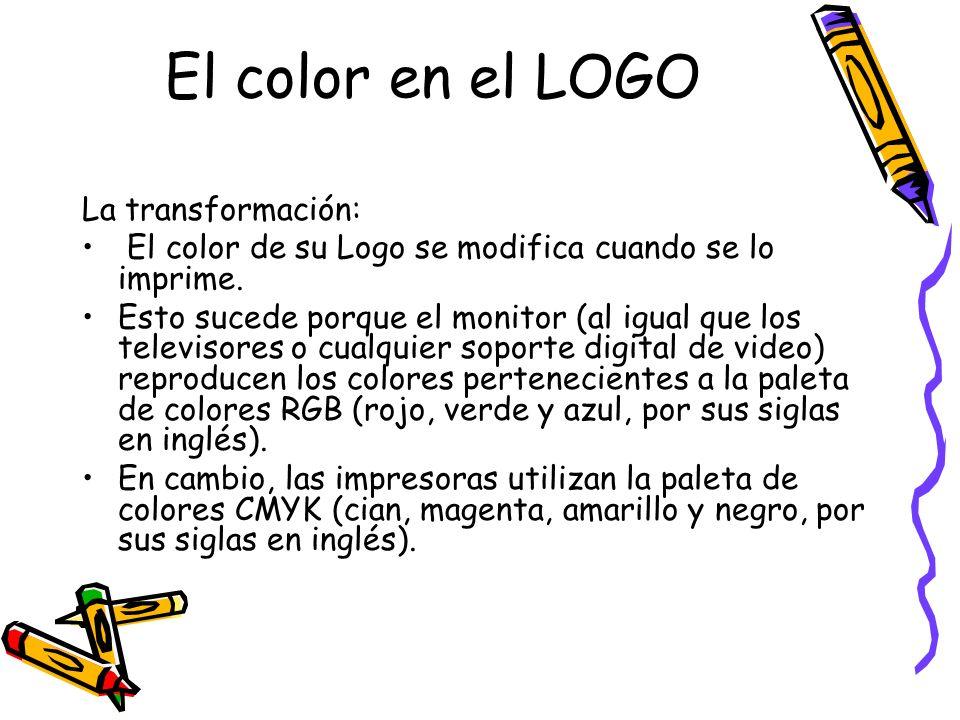 El color en el LOGO La transformación: