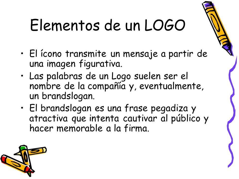Elementos de un LOGOEl ícono transmite un mensaje a partir de una imagen figurativa.