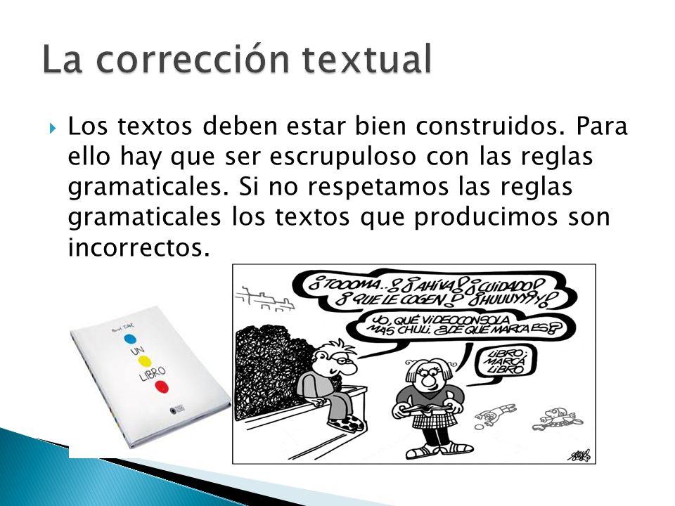 La corrección textual