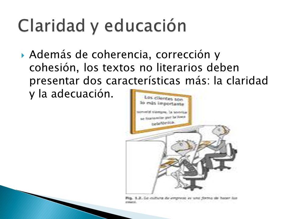 Claridad y educación