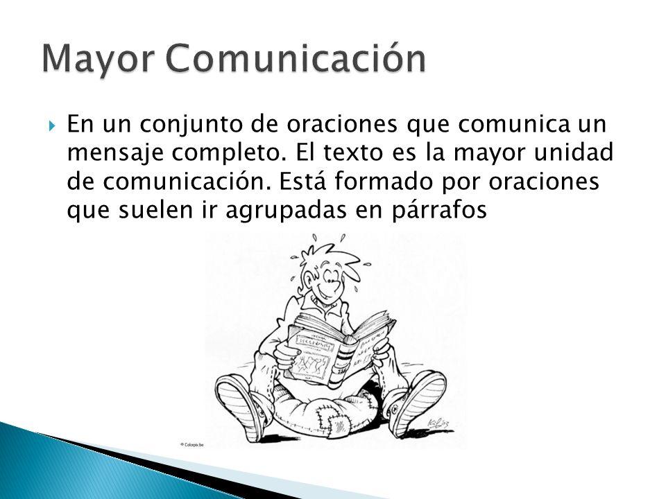 Mayor Comunicación