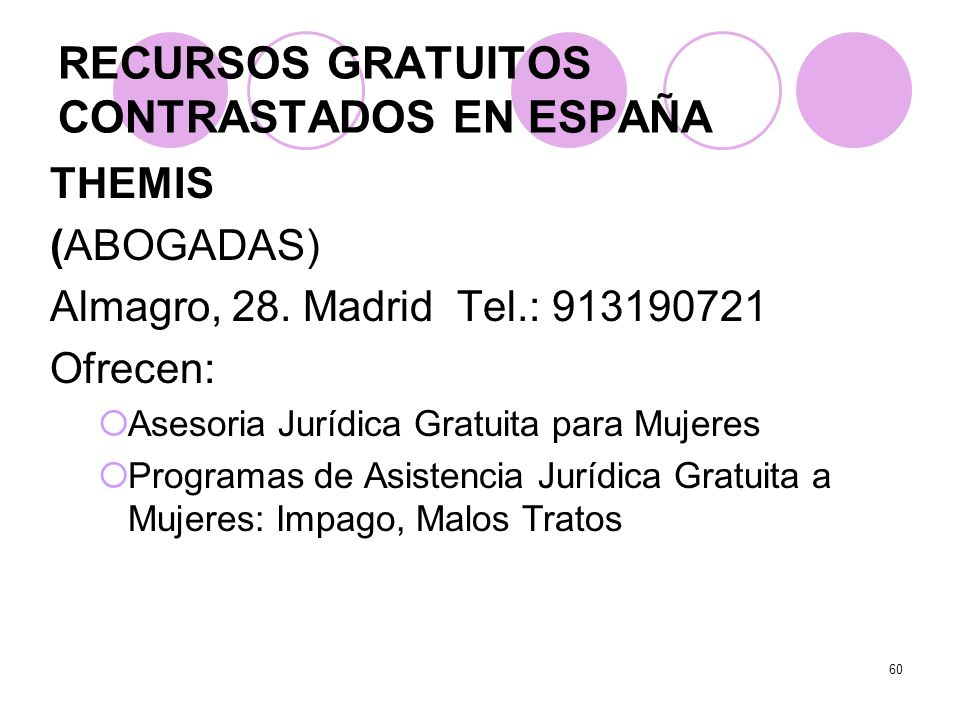 RECURSOS GRATUITOS CONTRASTADOS EN ESPAÑA