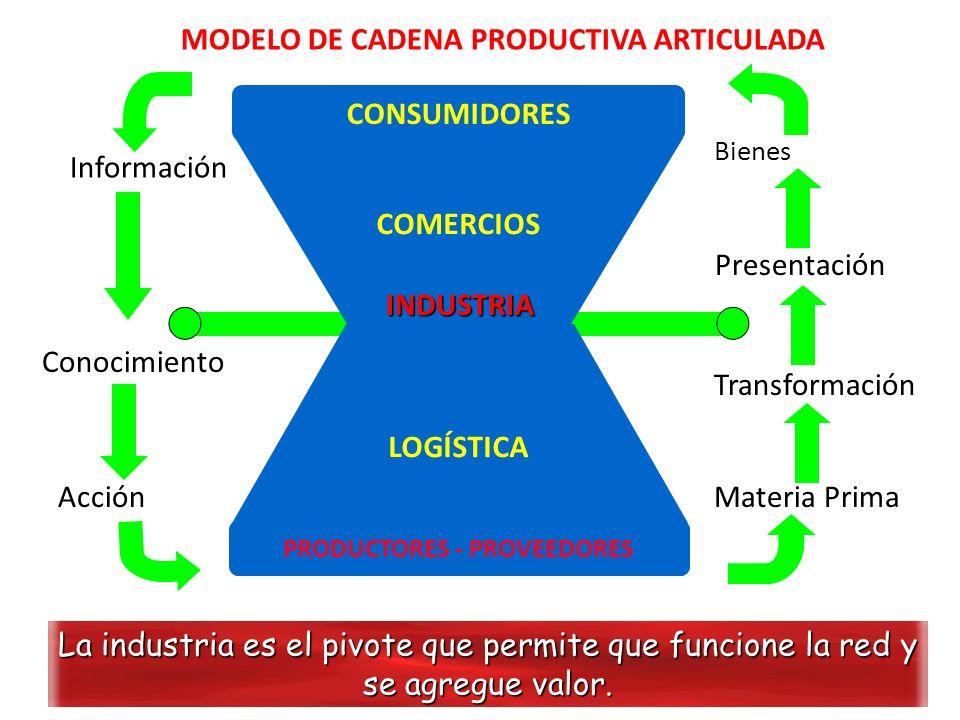 MODELO DE CADENA PRODUCTIVA ARTICULADA