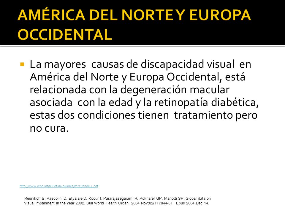 AMÉRICA DEL NORTE Y EUROPA OCCIDENTAL