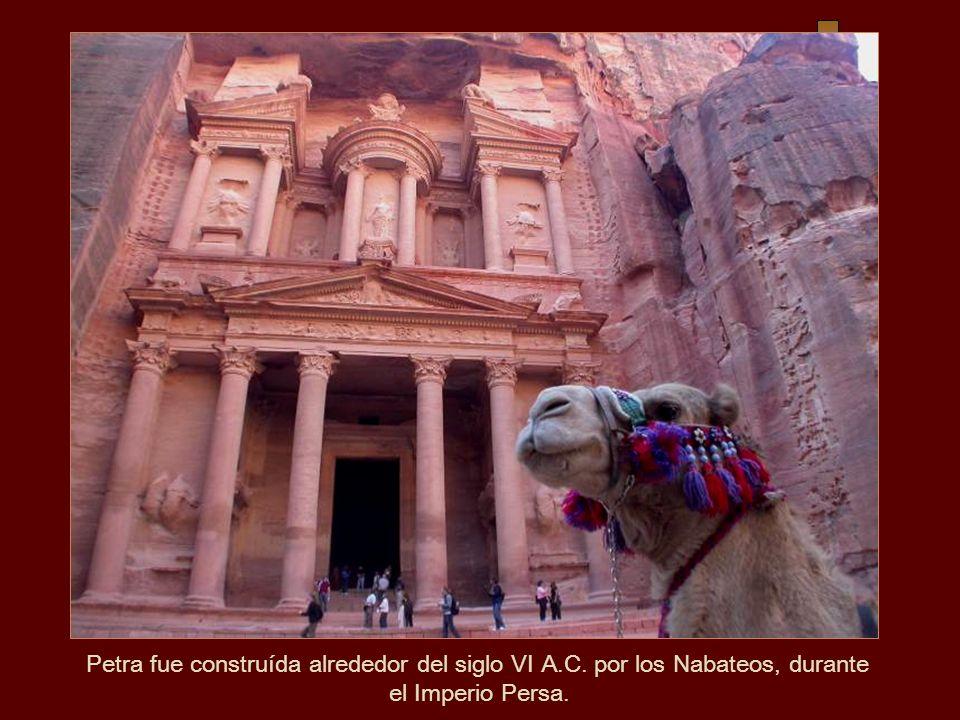 Petra fue construída alrededor del siglo VI A. C
