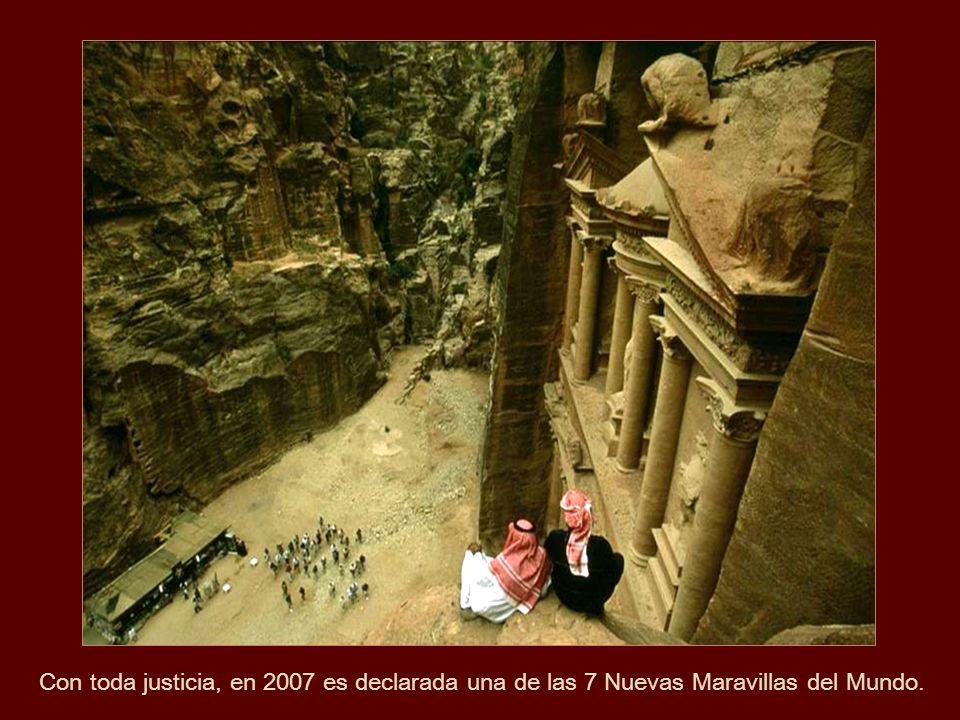 Con toda justicia, en 2007 es declarada una de las 7 Nuevas Maravillas del Mundo.