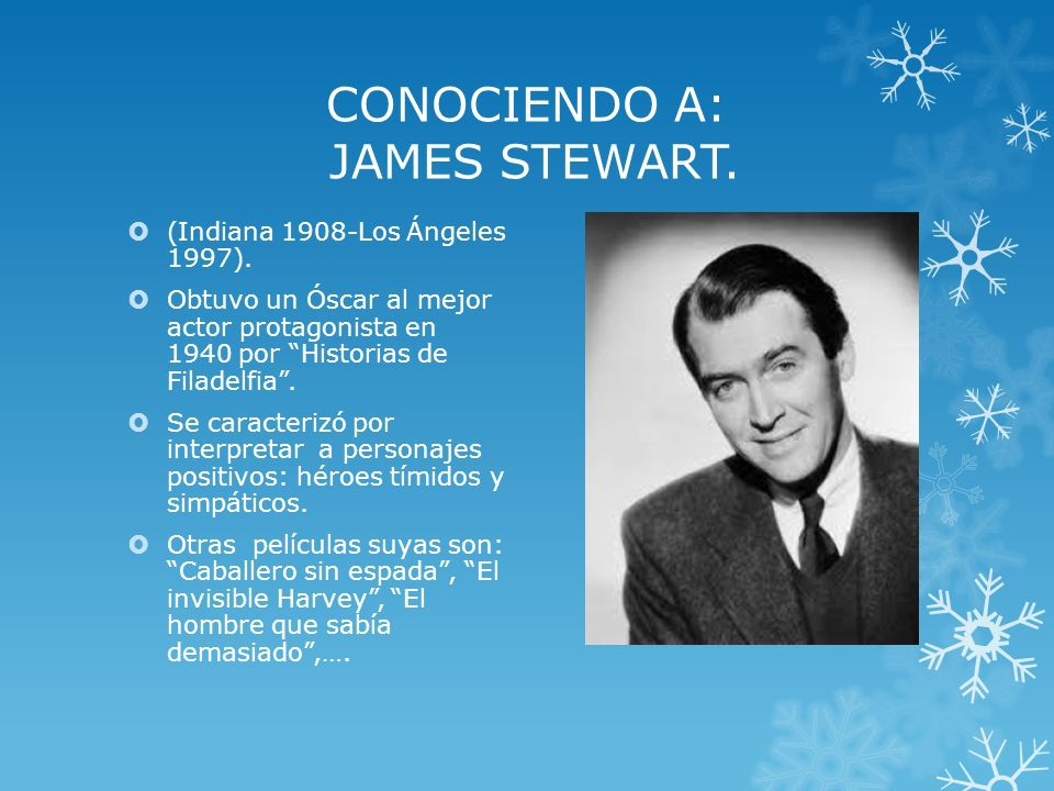 CONOCIENDO A: JAMES STEWART.